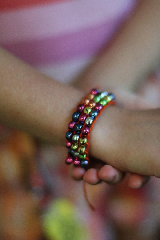 Finish bracelets for Native American Studies